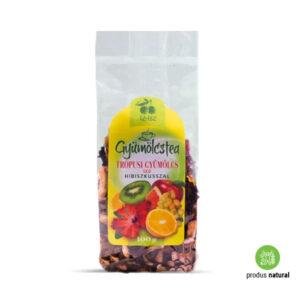 Ceai cu hibiscus și aromă de fructe tropicale