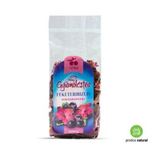 Ceai de fructe cu hibiscus, petale de trandafir și coacăze negre