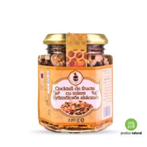 Cocktail de Fructe și Semințe cu Miere de Salcâm