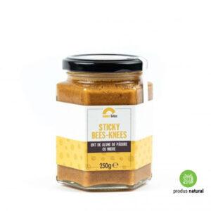 Unt de alune de pădure cu miere